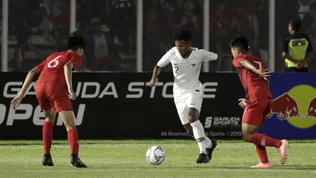 Timnas Indonesia U-19 Vs Timnas Hong Kong U-19