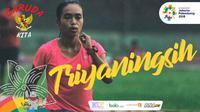 Garuda Kita Asian Games Triyaningsih (Bola.com/Adreanus Titus)