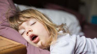 Ilustrasi Anak Tidur (iStockphoto)
