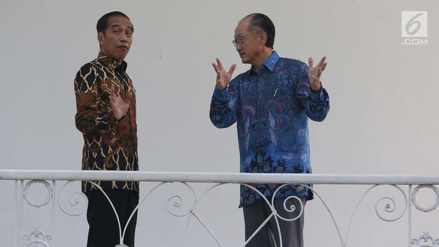 Jokowi dan Presiden Bank Dunia, Jim Yong Kim