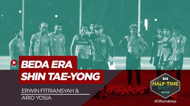 Berita Video Half Time Show, Uniknya Timnas Indonesia Era Shin Tae-yong