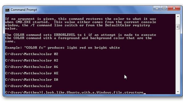 Command Prompt. Dok: howtogeek.com
