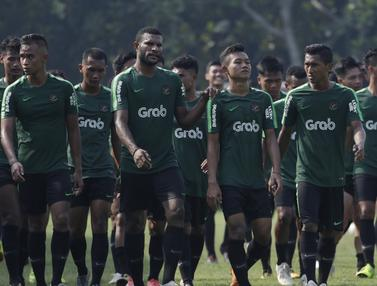 Pemain Timnas Indonesia U-22, Marinus Wanewar. (Bola.com/Vitalis Yogi Trisna)