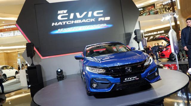 Honda Civic Hatchback RS (Arief/Liputan6.com)