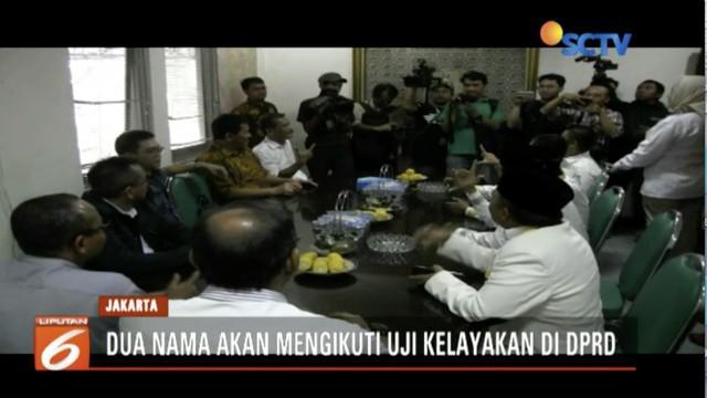 PKS dan Gerindra segera umumkan nama dua calon wakil gubernur DKI Jakarta pengganti Sandiaga Uno.