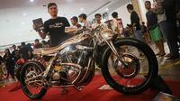 The 29 sabet gelar Best Kustom Bike Kustomfest 2018. (Herdi/Liputan6.com)