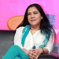 Lydia Kandou di acara Preskon Rindu Tiara (Deki Prayoga/bintang.com)