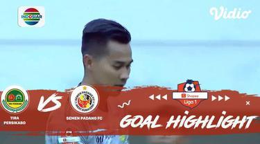 Berita Video Highlights Shopee Liga 1 2019, Tira Persikabo Vs Semen Padang 1-1