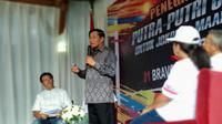 Anggota Dewan Pertimbangan Presiden (Wantimpres) Agum Gumelar  (Putu Merta/Liputan6.com)