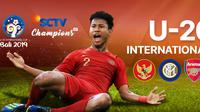 Saksikan Live Streaming Indonesia ALL Stars U-20 Vs Arsenal U-20. sumberfoto: Vidio