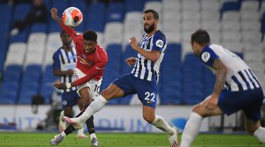 Bruno Fernandes Tampil Apik, Manchester United Bantai Brighton 3-0