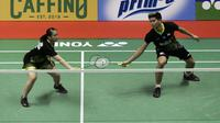 Praveen Jordan/Melati Daeva Oktavianti di Indonesia Masters 2020. (Bola.com/Yoppy Renato Manalu)