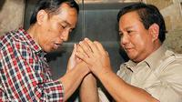 Jokowi dan Prabowo saat Pilkada DKI Jakarta 2012 (Antara/Yudhi Mahatma)
