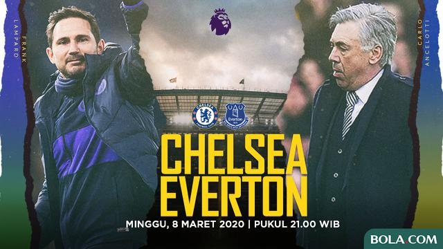 Chelsea Vs Everton - Head to Head Pelatih