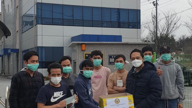 Kondisi WNI di Seoul, di tengah mewabahnya Virus Corona. (Source: KBRI Seoul)
