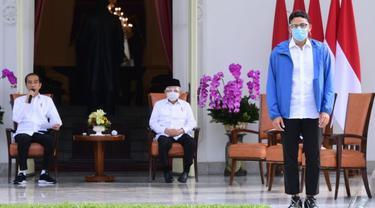 Jokowi Umumkan Sandiaga Salahuddin Uno sebagai Menteri Pariwisata dan Ekonomi Kreatif Baru