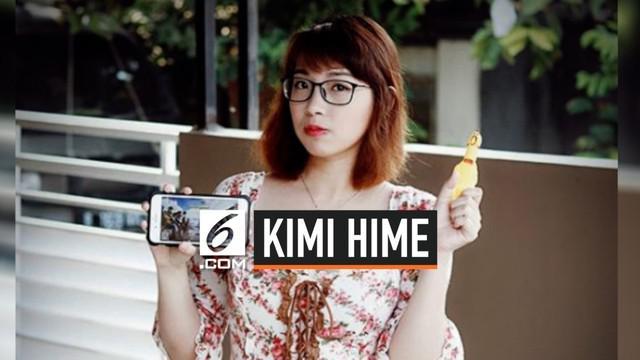 Kementerian Komunikasi dan Informatika (Kemkominfo) men-suspend (menangguhkan) tiga konten di saluran YouTube milik gamer Kimi Hime.