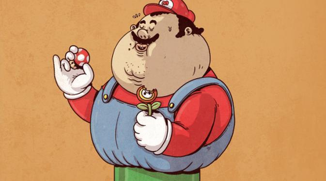 101 Gambar Gambar Kartun Lucu Gendut Paling Bagus