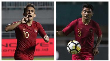 Timnas Indonesia akan menjalanai laga keenamnya di Grup G Kualifikasi Piala Dunia 2022 menghadapai Thailand, Kamis (3/6/2021) di Dubai, UEA. Dengan nir poin dan sudah tidak berpeluang lolos, 5 pemain kunci berikut bertekad memberi perlawanan dengan peran krusialnya. (Kolase Foto Bola.com)