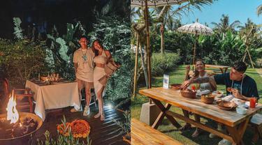 Momen Liburan Andrea Dian dan Ganindra Bimo di Bali, Romantis