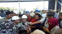 Menteri BUMN Rini Soemarno di acara HUT Pegadaian, Jakarta. (Dok Merdeka.com)