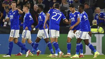 FOTO: Leicester City Ditahan Imbang Napoli 2-2