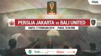 Final Piala Presiden 2018_Persija Jakarta Vs Bali United (Bola.com/Adreanus Titus)