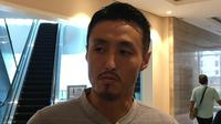 Pelatih Timnas Futsal Indonesia, Kensuke Takahashi. (Bola.com/Benediktus Gerendo Pradigdo)