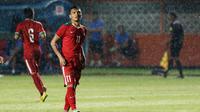Ferdinand Sinaga, Timnas Indonesia. (Bola.com/Nicklas Hanoatubun)
