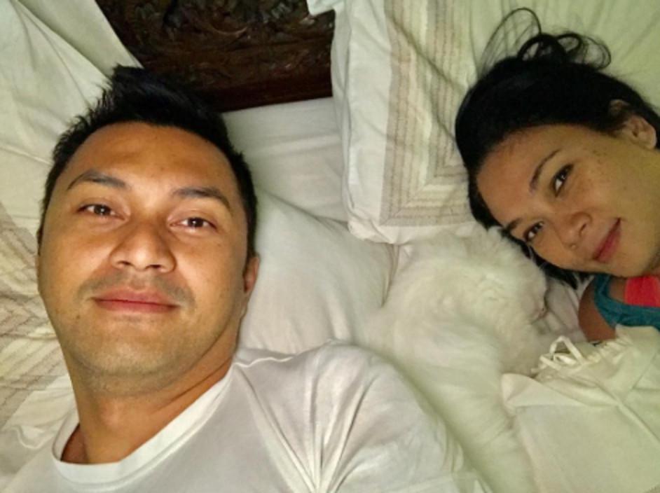 Anjasmara dan Dian Nitami. (Instagram/anjasmara)