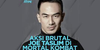 Joe Taslim Tampil sebagai Ninja Es Sub-Zero di Trailer Film Mortal Kombat
