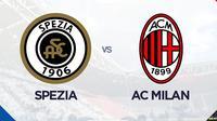 Liga Italia: Spezia vs AC Milan. (Bola.com/Dody Iryawan)