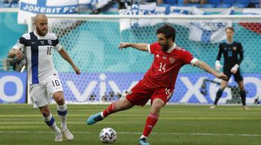 Piala Eropa 2020 Finlandia melawan Rusia