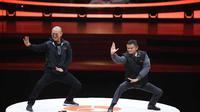Selain jago bisnis dan pintar nyanyi, Jack Ma juga hebat memeragakan kungfu (Dok: Jet Li/Facebook)