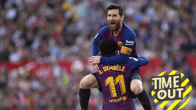 Berita video Time Out yang membahas para pemain berharga di La Liga, salah satunya Lionel Messi.