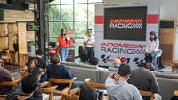 Jumpa pers sesi perkenalan Indonesia Racing, Rabu (11/11/2020).