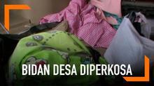 Seorang bidan pada sebuah desa di Ogan Ilir diperkosa oleh orang tak dikenal.