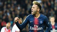 4. Neymar Jr (Paris Saint-Germain) - 5 gol dan 2 assist (AFP/Anne-Christine Poujoulat)