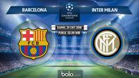 Liga Champions 2018 Barcelona Vs Inter Milan (Bola.com/Adreanus Titus)