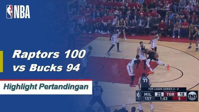 Kawhi Leonard memimpin Raptors dengan 27 poin dan 17 rebound ketika mereka meraih kemenangan di Game 6 atas Bucks untuk melaju ke Final NBA.