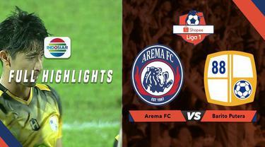 Berita video highlights Shopee Liga 1 2019, Arema FC vs Barito Putera 2-1, Senin (19/8/2019) di Stadion Kanjuruhan, Kab. Malang.