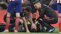 Laurent Koscielny terancam gagal ke Piala Dunia 2018. (AFP/Gabriel Bouys)