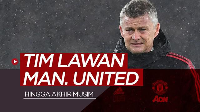 Berita video melihat siapa saja tim-tim lawan yang akan dihadapi Manchester United hingga akhir musim 2018-2019.