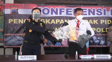 Bea Cukai Tanjung Emas Gagalkan Penyelundupan 1 Kg Sabu Lewat Barang Kiriman