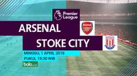 Premier League_Arsenal Vs Stoke City (Bola.com/Adreanus Titus)