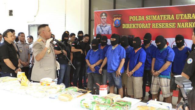 Drama Pengejaran Sindikat Narkoba Jaringan Internasional Di Medan