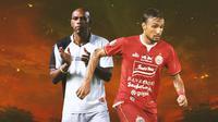 Liga 1 - Ilustrasi Kayamba Gumbs dan Rohit Chand (Bola.com/Adreanus Titus)