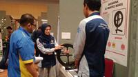 Mahasiswa ITS meraih penghargaan dalam ajang World Invention and Technology Expo (WINTEX) 2019. (Foto: Liputan6.com/Dian Kurniawan)