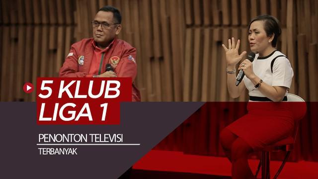 Berita video Direktur Programming SCM, Harsiwi Achmad, mengungkapkan 5 klub Liga 1 dengan penonton televisi terbanyak. Siapa saja?