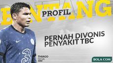 Berita video profil bintang membahas bintang Chelsea, Thiago Silva yang ternyata pernah terkena penyakit yang mengancam karir dan juga hidupnya.